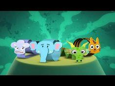 Telmo y Tula - Animales de Papel - como hacer manualidades con dibujos animados