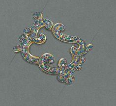 Fabergé Rococo Bangle. #Fabergé #Rococo #Bracelet
