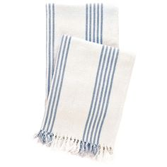 Pine Cone Hill Ibiza French Blue Throw Blanket