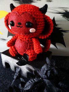 Devil Monkey Amigurumi by ~cuteamigurumi on deviantART