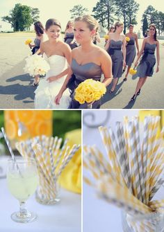 GREY 'N' YELLOW, GREY 'N' YELLOW… WEDDING :) | By Antonia Christianson Events | The Knotty Bride™ Wedding Blog + Wedding Vendor Guide