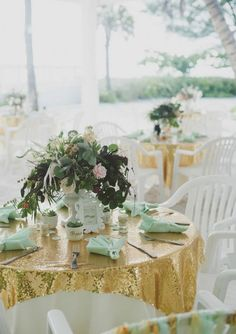 64 Brilliant Mint And Gold Wedding Ideas | HappyWedd.com