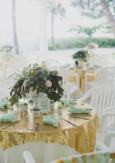 64 Brilliant Mint And Gold Wedding Ideas | HappyWedd.com