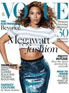Snapshot: Beyonce by Mario Testino for Vogue UK May 2013