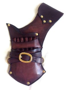 Horse Archery Quiver with Sleeves for 12 arrows
