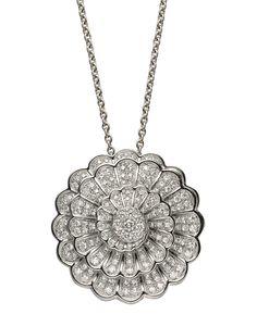 #Collar Afrodita en Oro Blanco con #Diamantes de #CarrerayCarrera #Diamonds #Pendant #Jewelry #Joyas #Fashion #Moda