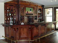 Front bar panel