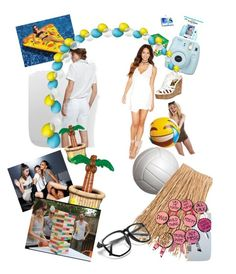 Club pool party ideas by erica-m-cutrer on Polyvore featuring polyvore and art