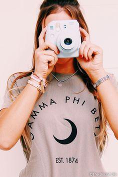 Gamma Phi Beta Vintage Moon Tee | The Social Life | Premium Greek Apparel