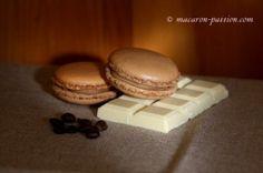 Macarons café et chocolat blanc