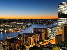 View Darling Harbour from 140/361 Kent St Sydney