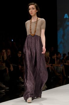 ansoho spring summer 2014 fashion show at showfloor berlin Spring 2014, Summer 2014, Spring Summer, Slow Fashion, Fashion Show, Maxi Dresses, Fashion Dresses, 2014 Trends, Material Girls