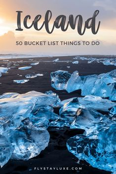 Planning a trip to Iceland soon? Check out these top 50 best things to see and things to do in Iceland! From Reykjavik to the Blue Lagoon, the Northern Lights, Glacier Lagoon, and more! PLUS learn how to get your hands on our bonus Iceland Trip Planning Bundle. It's packed with useful planning resources, printable checklists, itineraries, maps, and more!  Perhaps you're into travel photography? Iceland is a photographers paradise with some absolutely stunning landscapes... click to learn… Iceland Travel Tips, Iceland Road Trip, Europe Travel Guide, Europe Destinations, Travel Guides, Cool Places To Visit, Places To Travel, Budget, Wanderlust Travel