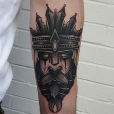 Join the masquerade ball. | 49 Bloody Brilliant Black And Grey Tattoo Ideas