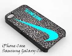 Nike Just Do It Leopard Silver for iPhone 4/4S/5/5S5C Case, Samsung Galaxy S3/S4 Case, iPod Touch 4/5 Case