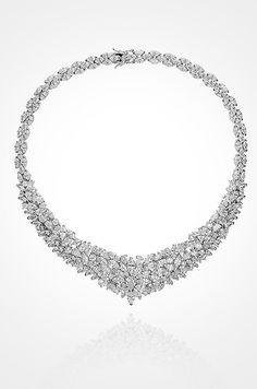 Beautiful crystal statement necklace. Courtesy of Nina