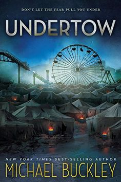 Undertow by Michael Buckley   books, reading, book covers, cover love, ferris wheels