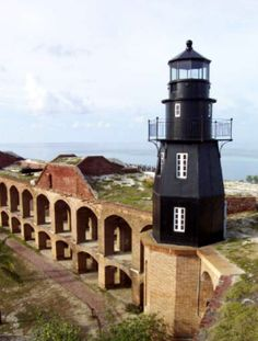 Fort Jefferson Light House, Dry Tortugas, Florida