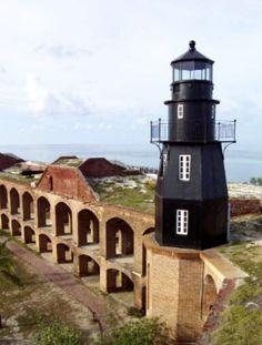 Fort Jefferson Light House, Dry Tortugas, Florida