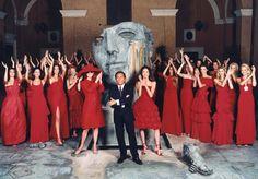Las bodas de oro de Valentino - 50 años después no hay nada como el rojo