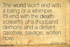 Darren Shan, The Demonata