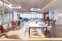 GlowRing™ Pendant - OCL Architectural Lighting Residential Lighting, Recessed Ceiling, Light Architecture, Pendant Lighting, Interior And Exterior, Winter Sport, Sport Design, Studio Design, Lights