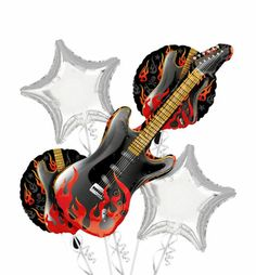 Rock On Party Supplies - Punk Rock Theme Party - Party City