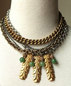Sheer Addiction Jewelry - Morgen For the girl who knows a statement piece can make the outfit... http://sheeraddictionjewelry.com/estore/necklaces/morgen
