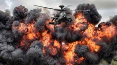 BBC - Future - This photo of a British Army Apache helicopter and a fireball at an air show won best overall image in this year's Army Photographic Competition. (Corporal Jamie Peters /MOD)