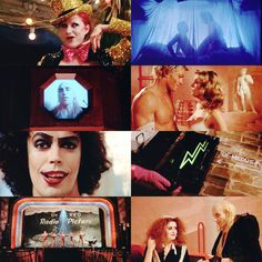 Give yourself over to absolute pleasure -- Rocky Horror Picture Show