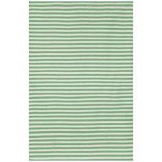 Trans Ocean SRN57630004 Sorrento Mini Stripe Area Rug, Aqua