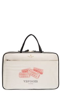 kate spade new york 'italian flashcards - manuela' cosmetics case available at #Nordstrom