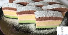 Cake Bars, Hungarian Recipes, Confectionery, Diy Food, Vanilla Cake, Nutella, Cake Recipes, Food And Drink, Cooking Recipes