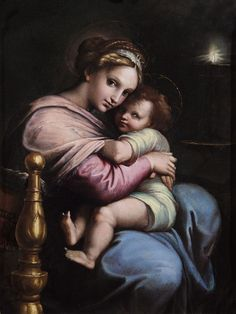 Giulio Romano「madonna con bambino」
