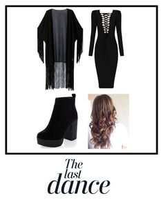 """WHAT ABOUT BLACK"" by squeed on Polyvore featuring WithChic, New Look and Anja"