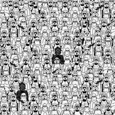 Onderwijs en zo voort ........: 2753. Zoek de panda : Afbeelding 2 ( Star Wars )