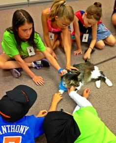 Pet therapy: Not just for dogs! Hits the Lake Bluff Library Monday nigh. Max and his friends will fill you in on a great program for dogs and other pets.