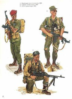 La Pintura y la Guerra. Military Art, Military History, Military Uniforms, Military Drawings, Military Pictures, Modern Warfare, Special Forces, Vietnam War, Armed Forces