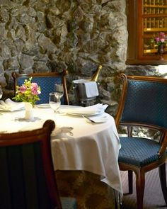 The French Laundry, Yountville, CA-most romantic restaurants. Dining chairs by Pollin's Interiors in Napa. Napa Restaurants, Romantic Restaurants, French Restaurants, The French Laundry, Napa Sonoma, Romantic Dinners, Most Romantic, Napa Valley, Wine Country