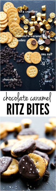 These Chocolate Caramel Ritz Bites are sweet and salty and you won't be able to get enough!! http://therecipecritic.com