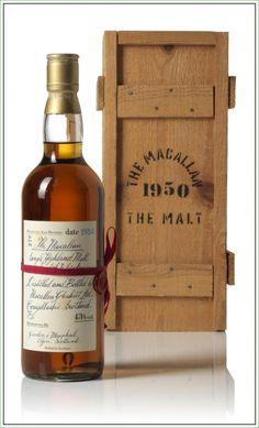 The Macallan The Malt 1950 Single Highland Malt Scotch Whisky #whisky