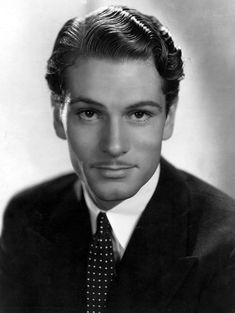 Laurence Olivier, Portrait With Polka Photograph