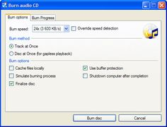 CDBurnerXP - Manejar imágenes ISO