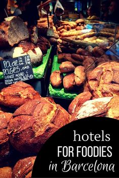 For the foodies in town, here are your top hotels in Barcelona--all food-related! It's one of the best parts of traveling, right? And especially food in Barcelona, because it's some of the best! Barcelona Travel Guide, Barcelona Food, Barcelona Hotels, Spanish Cuisine, Spanish Food, Manchester United, Real Madrid, Cruise Europe, Top Hotels