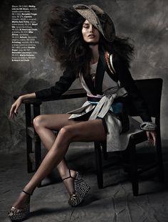 Marcelia Freesz - Vogue, Brazil, October 2012