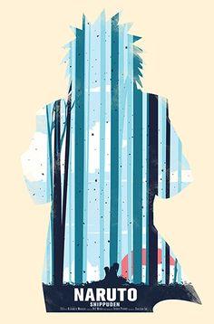 Naruto Minimalist Poster Set. on Behance