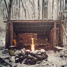 Bushcraft Winter Shelter Wilderness survival on pinterest survival shelter, survival