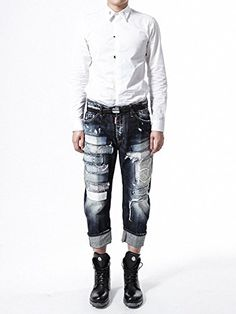 (ディースクエアード) DSQUARED2 Men's Jean ビッグ ジーンズ S71LA0812S30214... https://www.amazon.co.jp/dp/B01HGOAV24/ref=cm_sw_r_pi_dp_-AsBxbAPSMW6Y