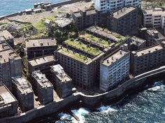 Hashima Island was once the most densely populated island in the world; now it's completely empty. People became interested in the island after finding an underwater coal deposit directly under it. As time went on, tightly packed apartment complexes were constructed for the miners and laborers, providing its density record. But folks left as quickly as they came when the coal ran out. It's now a rock and concrete ghost town in the middle of the ocean.