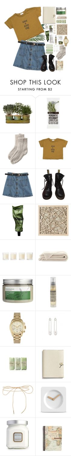 """""""have a good one"""" by yellowmellowz ❤ liked on Polyvore featuring Toast, Chicnova Fashion, Dr. Martens, Aesop, WALL, Shabby Chic, Botanics, Le Labo, Michael Kors and Kristin Cavallari"""